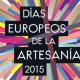 Colaboración con Los días Europeos de la Artesanía 2015