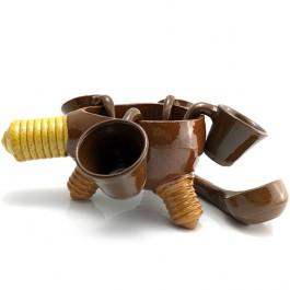 queimada bombilla artesanía de galicia alfarería de buño diseño en recipientes queimadas